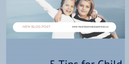 Two children with the title