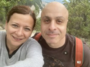 Have you ever felt unlovable? Picture of Zeina El-Sayed and her husband